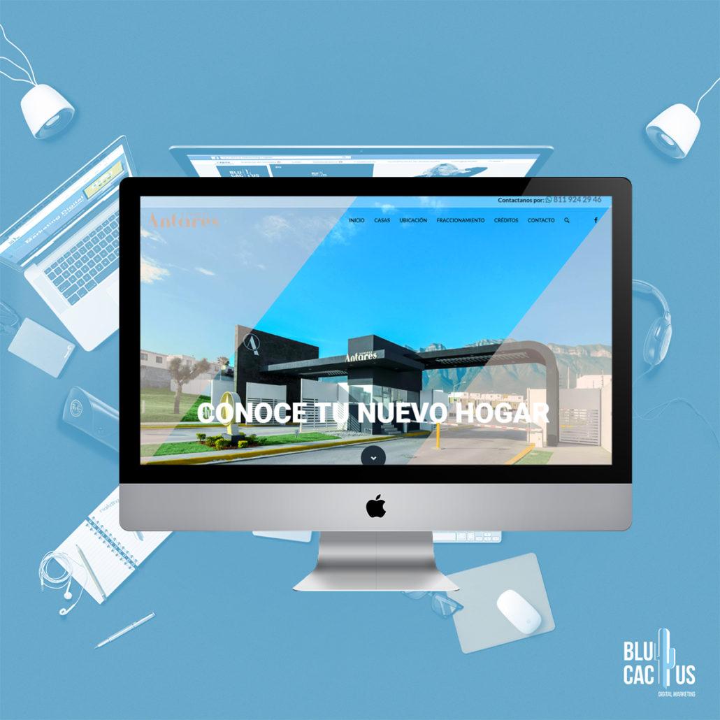 BluCactus Agencia de Diseño de páginas web - Cumbres Antares