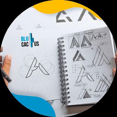 BluCactus - logotipo de marca