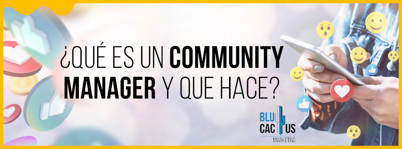 BluCactus - Community Manager - titulo