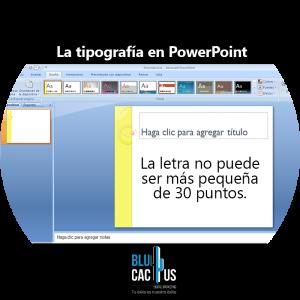 BluCactus /¿Cómo hacer una presentación en Power Point? / slides