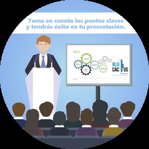 BluCactus /¿Cómo hacer una presentación en Power Point? / men
