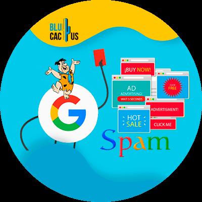 BluCactus - Algoritmos de Google - spam
