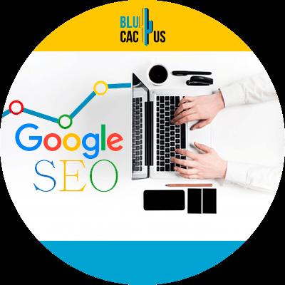 BluCactus - Algoritmos de Google - computadora con informacion importante