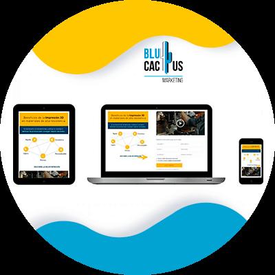BluCactus - tecnologia con informacion importante como un ipad, computadora y un celular