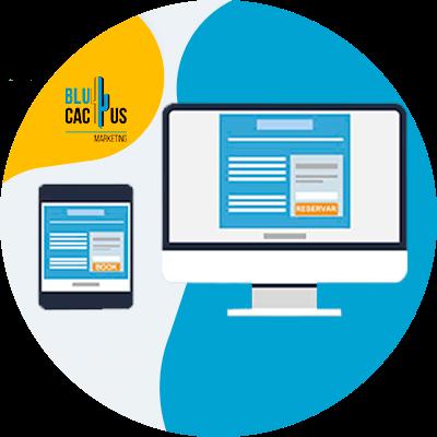 BluCactus - tablet y computadora con información importante en datos