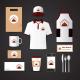 BluCactus Ofen Haus Branding para Restaurantes hay varios mercancías de Ofen Haus
