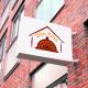 BluCactus Ofen Haus Letrero exterior para el Branding de Restaurantes