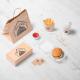 BluCactus empaques para llevar de Ofen Haus para el Branding de Restaurantes