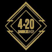 BluCactus - Barber 420 Logotipo
