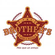 BluCactus Logotipo de Brothers Ribs & Wings Monterrey