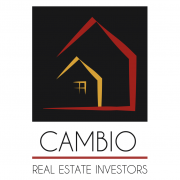 BluCactus Logotipo de Cambio Real Estate Investors, Dallas Texas