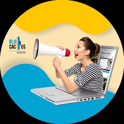 BluCactus - que es un blog - persona gritando por un blog
