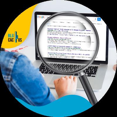 BluCactus - Seo On Page - computadora con informacion importante