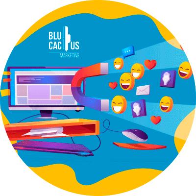 BluCactus - qué es el Inbound marketing - simbolos referentes al inbound marketing