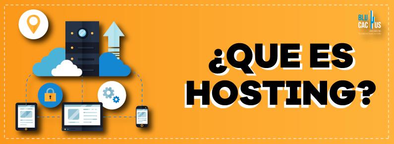 BluCactus Que es el web hosting servidor dominio correos