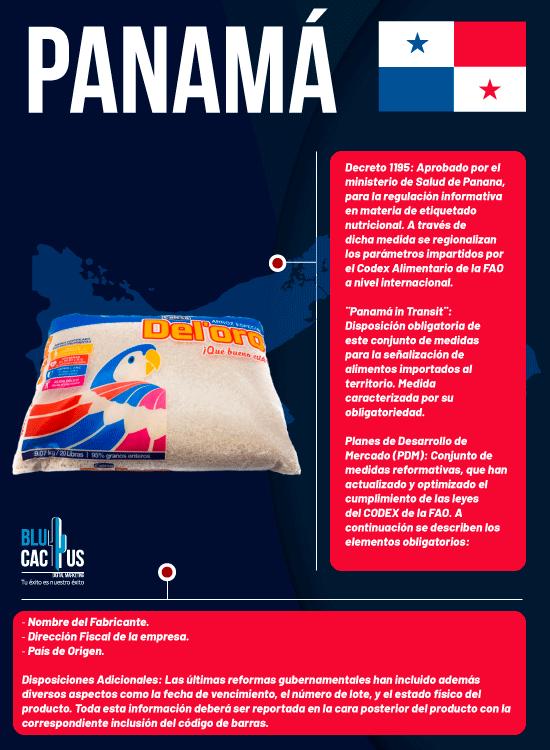 BluCactus - Normas de Etiquetado de Productos en Hispanoamérica - panama