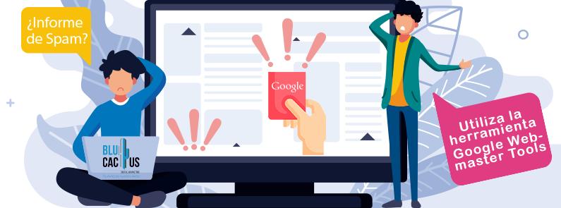 blucactus - ¿Cómo saber si Google ha penalizado mi página? - personas pensando