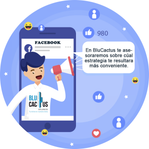BluCactus -¿Cómo atraer tráfico al blog corporativo? - Celular