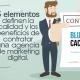 BluCactus / 5 beneficios de contratar marketing digital / portada