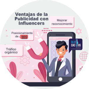BluCactus / Beneficios del Marketing de Influencer / persona
