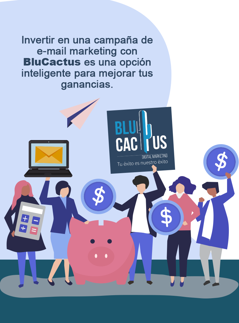 BluCactus - Email Marketing - contact