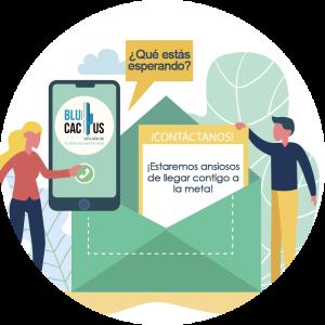 BluCactus / 5 beneficios de contratar marketing digital / telefono