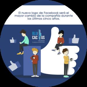 BluCactus - Nuevo logotipo de Facebook como herramienta de marketing - mano