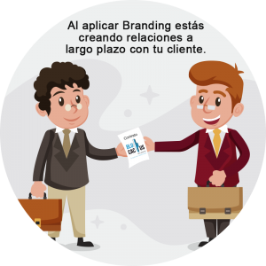 Blucactus - Branding Digital como estrategia de Marketing - people sharing a brochure