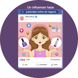 BluCactus / Beneficios del Marketing de Influencer / girl