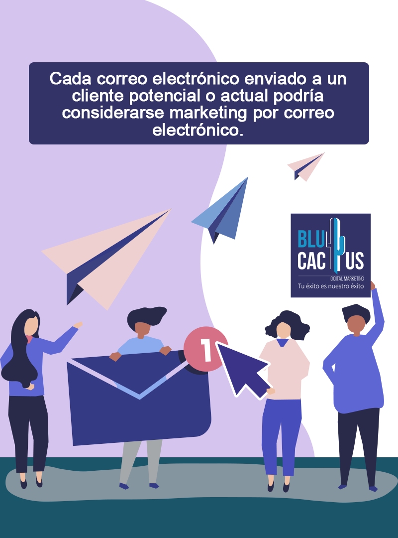 BluCactus - Email Marketing - mensaje