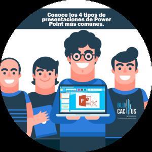 BluCactus - Tipos de presentaciones de Power Point - personas sosteniendo una laptop