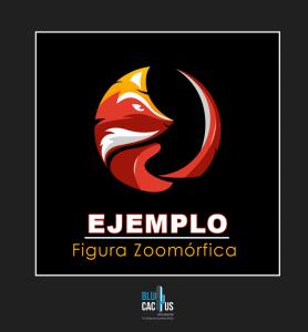 Blucactus - Elaboración de logotipos animados con el ejemplo de una figura zoomórfica