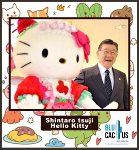 Blucactus - Origenes culturales con una foto de hello kitty