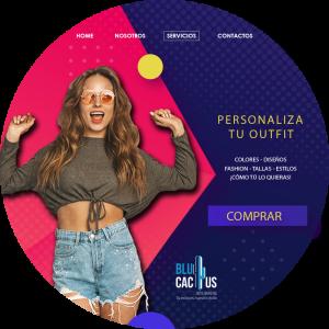 BluCactus - Personalización del producto - mujer sorprendida