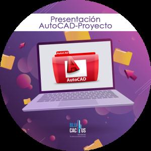 BluCactus - Tipos de presentaciones de Power Point - computadora con un folder y la letra a en rojo