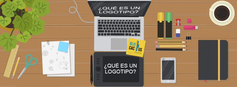 BluCactus - ¿Qué es un logotipo? - Titulo