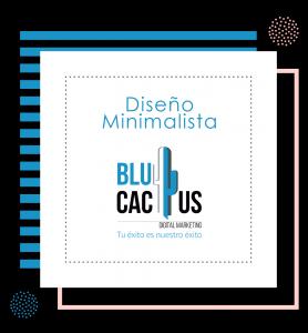 BluCactus - tendencias del diseño gráfico en 2020 - Se emplean diseños totalmente libres con un efecto minimalista
