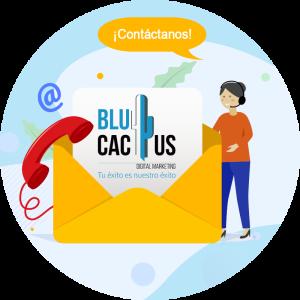 BluCactus - Estrategia efectiva con Google AdWords - Contacto