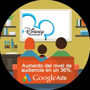 BluCactus - Estrategia efectiva con Google AdWords- niños viendo el canal de Disney Channel