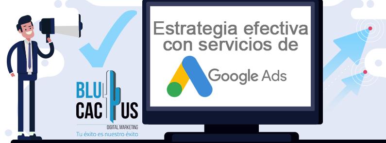 BluCactus - Estrategia efectiva con Google AdWords - titulo