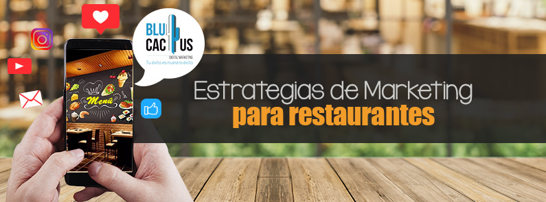 BluCactus - Marketing para restaurantes - titulo