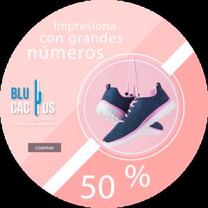 BluCactus - tennis con un descuento en color rosa pastel