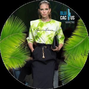 BluCactus - Tendencias de Moda para el 2020 - blusa color verde con falda de lapiz negra