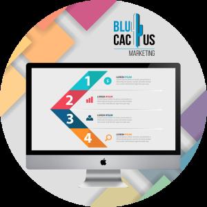 BluCactus - diseños de presentación - computadora de la marca apple