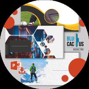 BluCactus - powerpoint platillas de modelos profesionales
