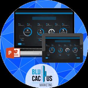 BluCactus - diseños de presentación - presentaciones de power point