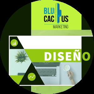 BluCactus - diseños de presentación - diseño de presentaciones color verde