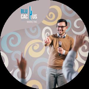 BluCactus - diseños de presentación - hobre en talleres motivacionales