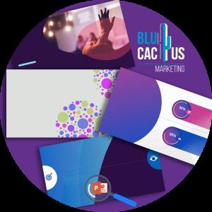 BluCactus - Diseño de tarjetas