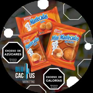 BluCactus - ejemplo de modificación de etiquetas en la marca bimbo